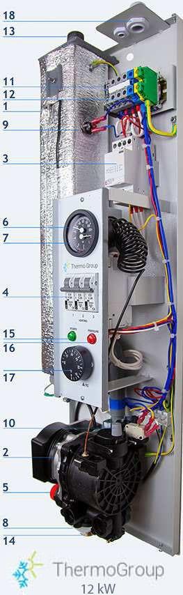 <small>Caldaia elettrica</small> 12 kW